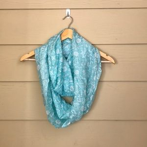 nautical scarf with anchor print